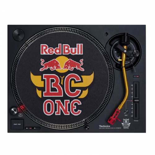 Technics SL-1210 MK7R Red Bull BC One Limited Edition
